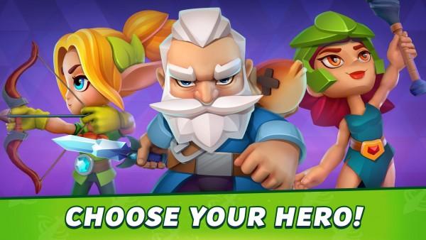 英雄冲刺冒险单机版图4