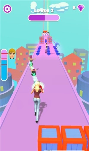 巫女少年赛跑者单机版图4