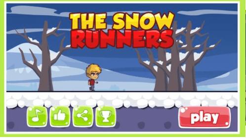 雪人跳跃跑单机版图2