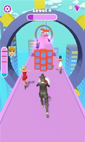 巫女少年赛跑者单机版图2