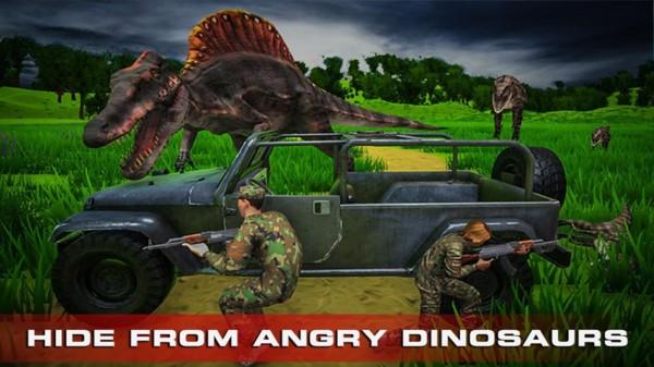 真实模拟射击恐龙单机版图2