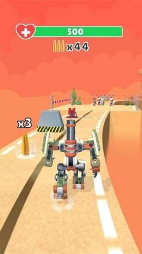 机器人跑酷射击图2
