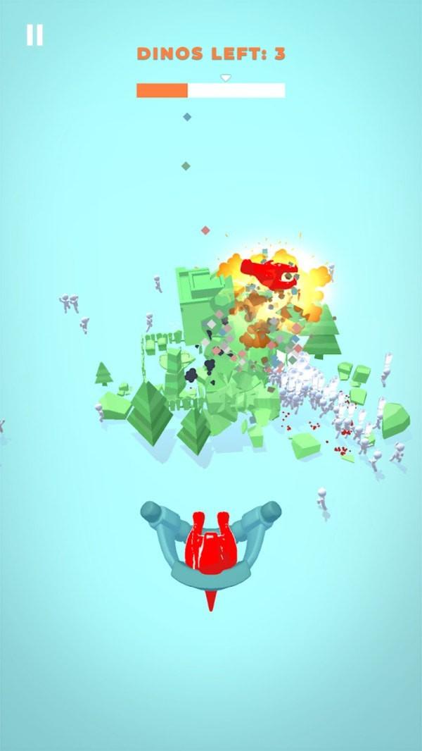 摧毁一切恐龙单机版图4