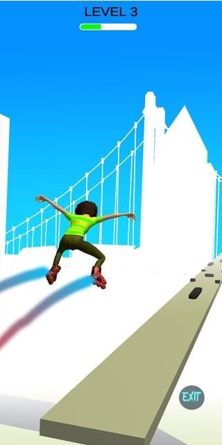 滚轴天车滑冰单机版图4