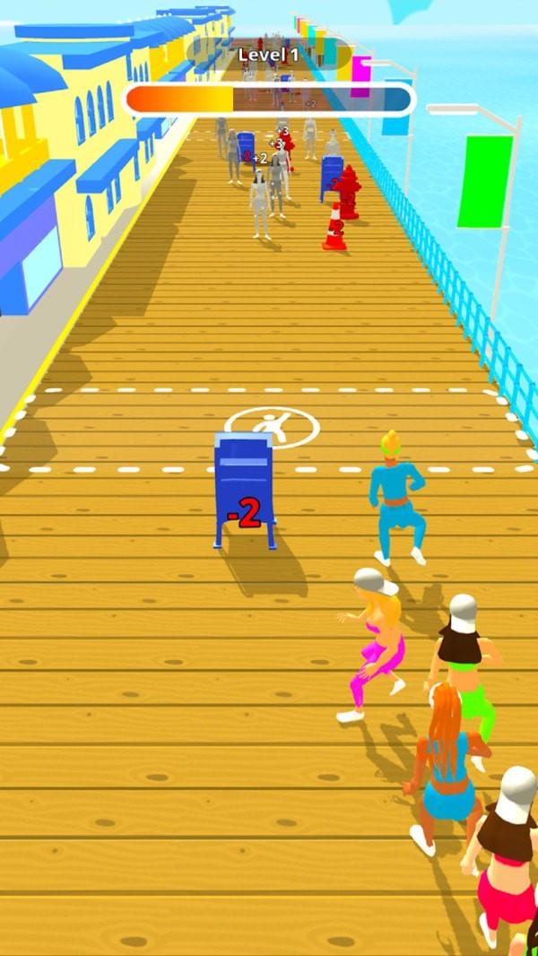 广场舞快跑单机版图1