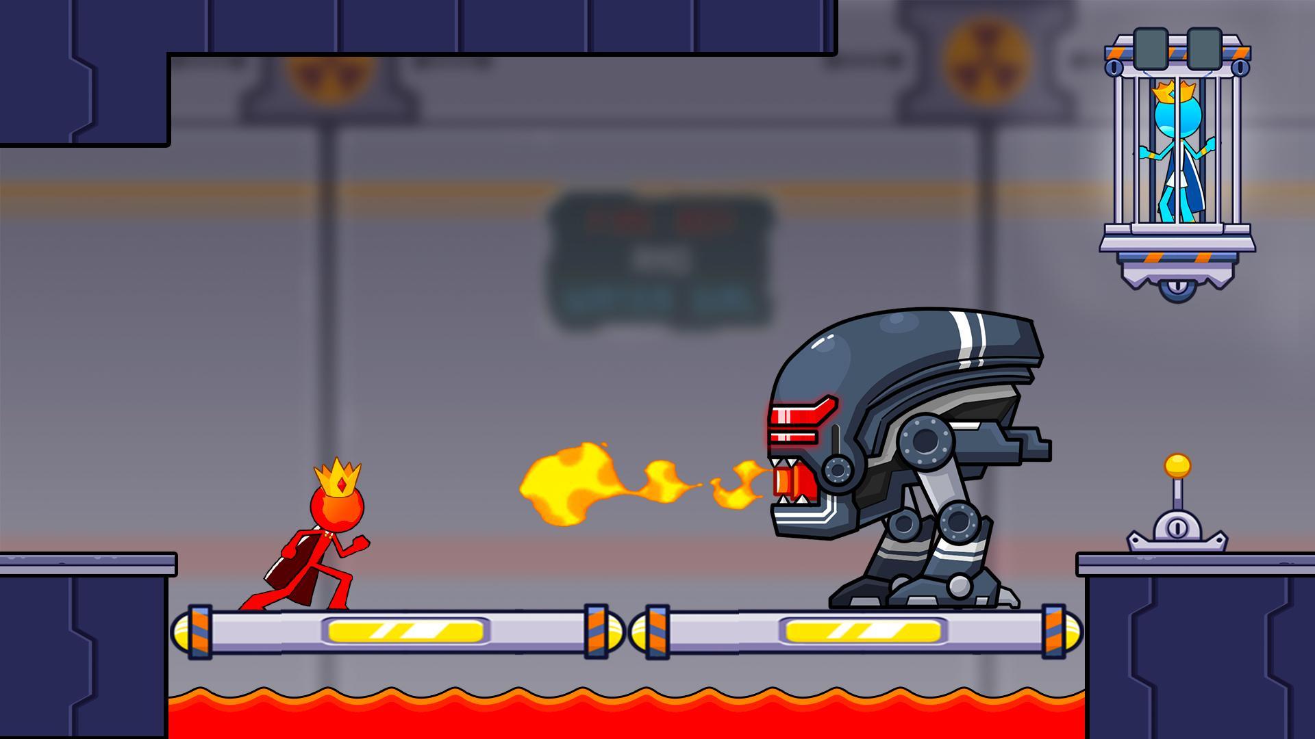 火与水火柴人2:神殿图1