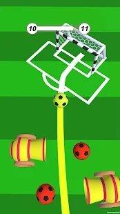 想进入球门的足球图3