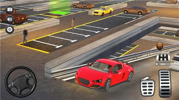 停车场真实模拟图3