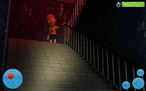 黑暗房子里的婴儿图2