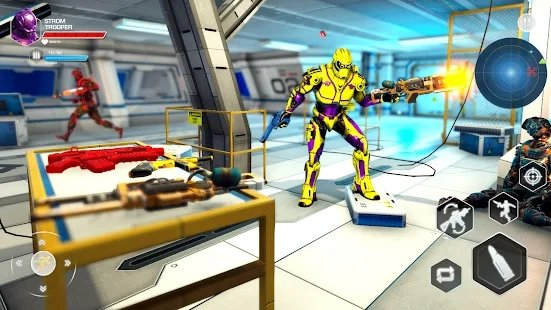 反机器人射击打击图2
