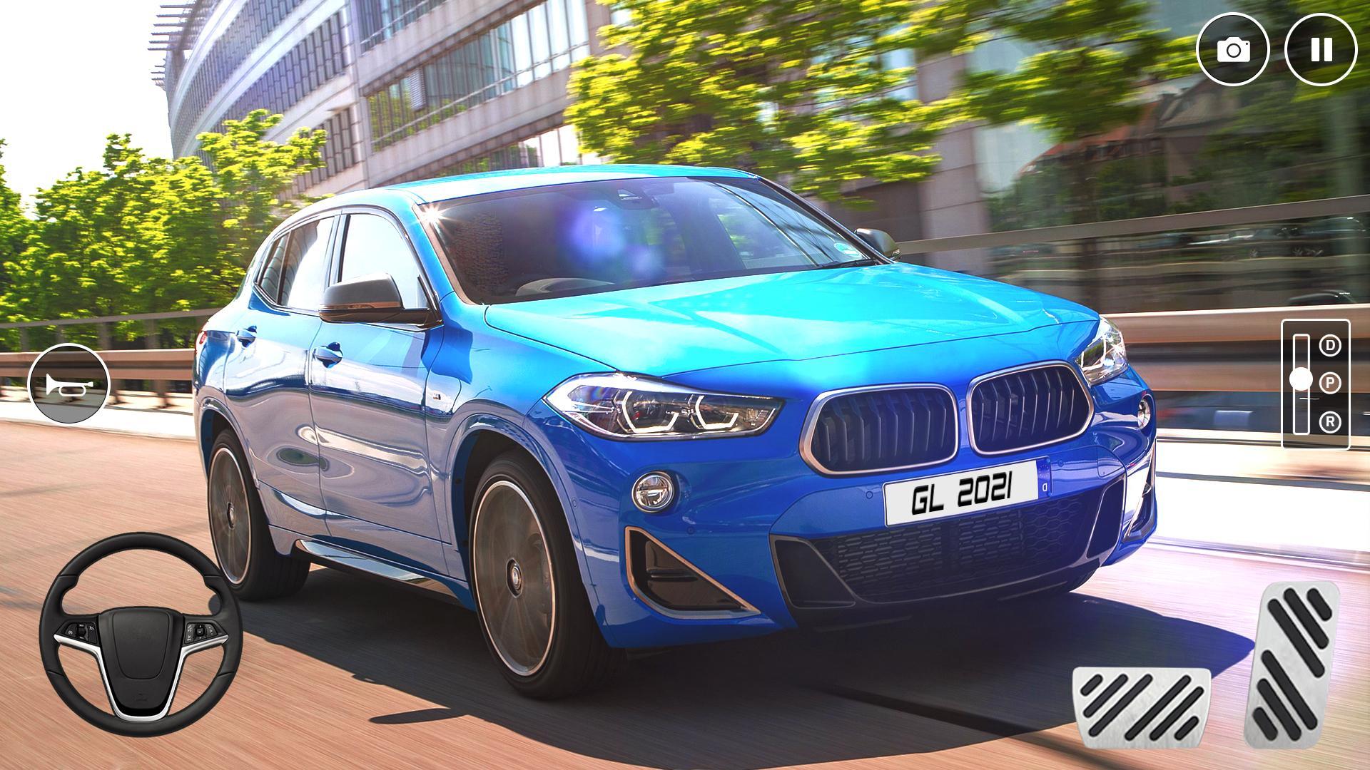 驾驶和漂移BMWX2:真实赛车模拟图1