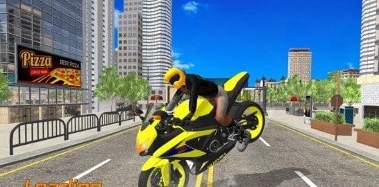 摩托车城市竞速图1