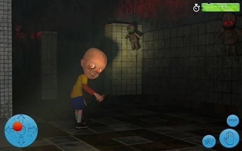 黑暗房子里的婴儿图1