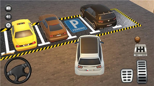 停车场真实模拟图2