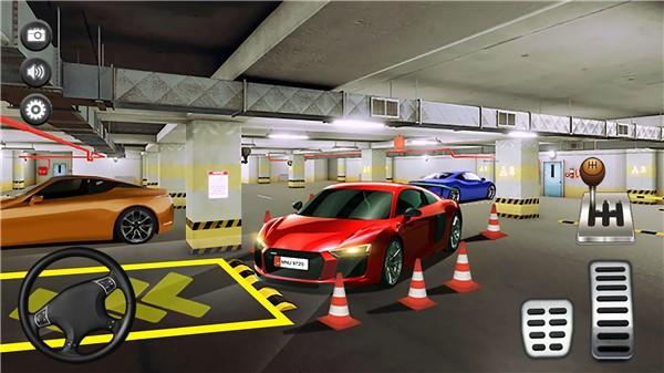 停车场真实模拟图1