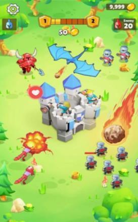 自动竞技城堡塔防图2