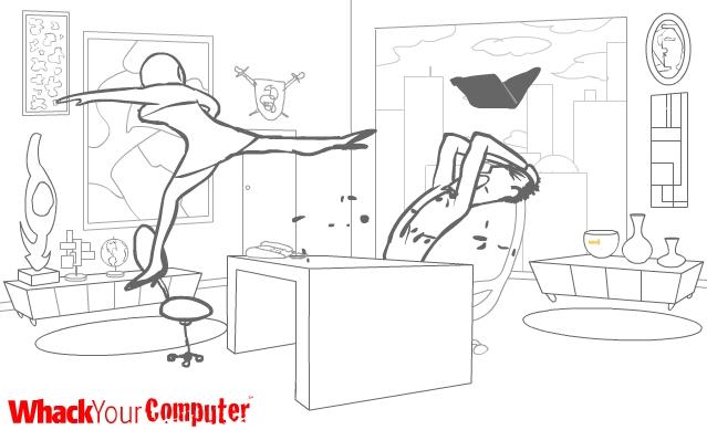 重击你的电脑图1