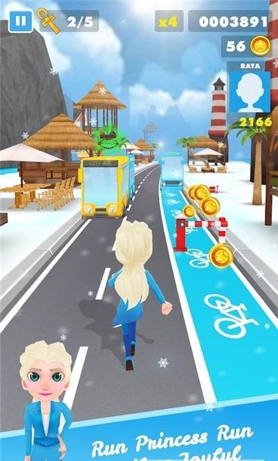 冰公主冒险跑酷图2