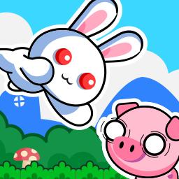 一只挺奇怪的兔子