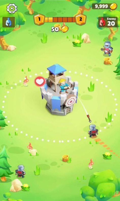自动竞技城堡塔防图4