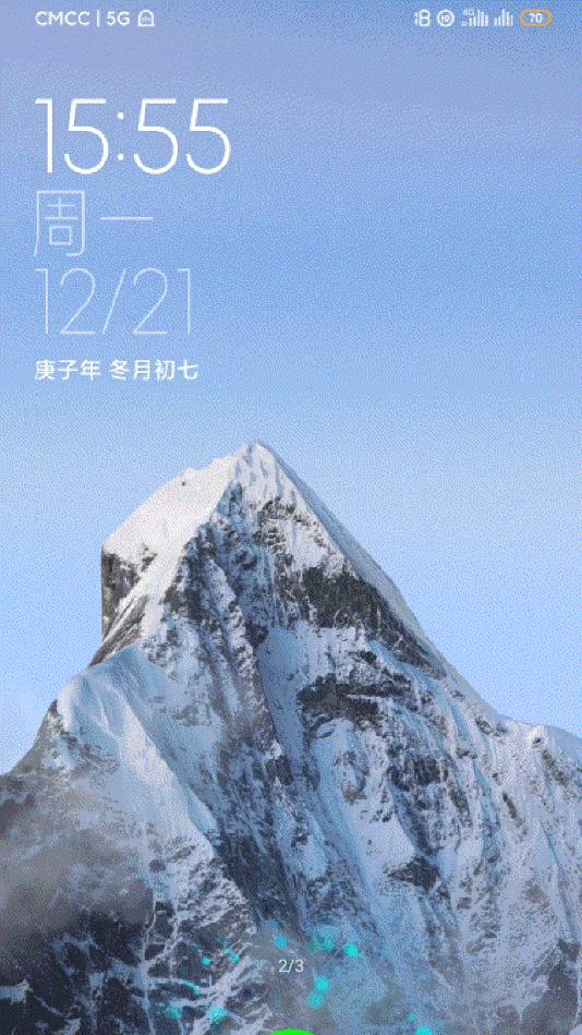 小米雪山壁纸图3
