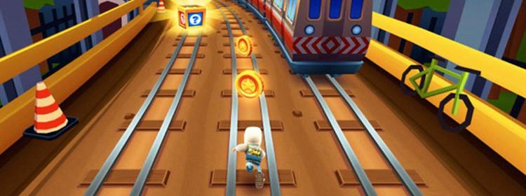 类似地铁跑酷的游戏