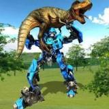 变形机器人大战恐龙
