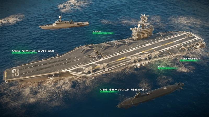 现代战舰0.45.4破解版图4