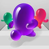 彩色斑点冲突3D