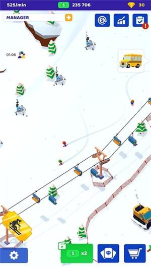 空闲滑雪大亨图1