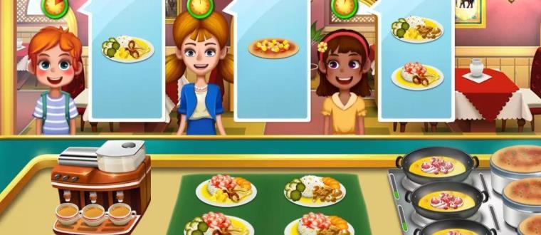可以自己制作美食的游戏