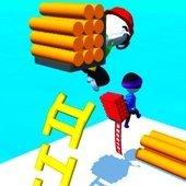 梯子马拉松比赛3D