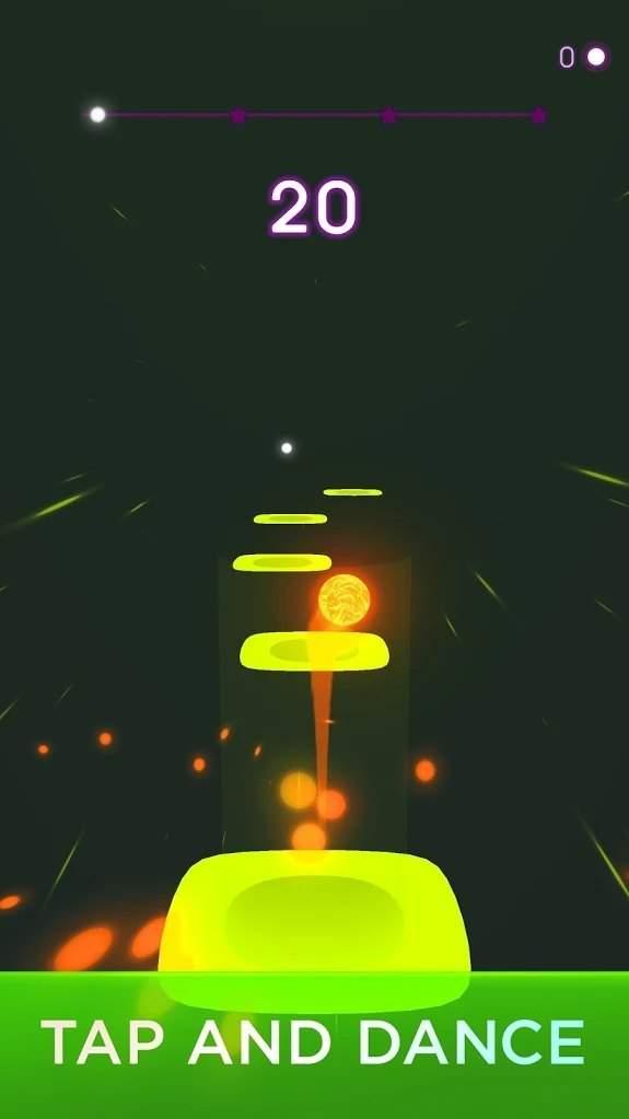 音乐球霓虹灯跳舞截图