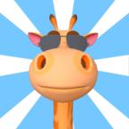沙雕长颈鹿