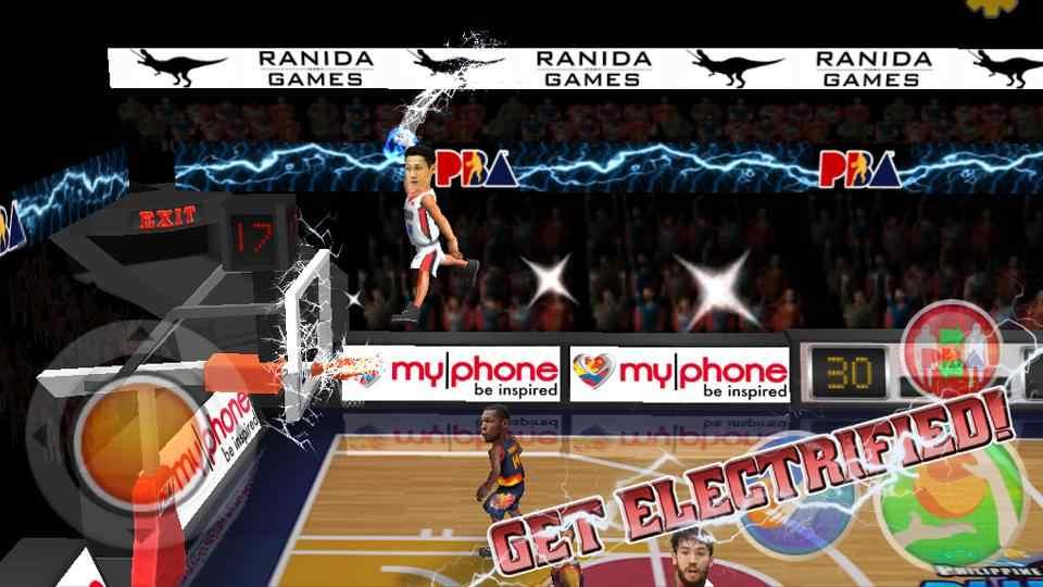 nba篮球明星游戏截图