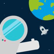 太空中迷路的宇航员