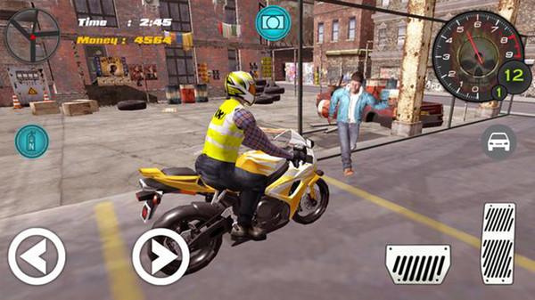 越野摩托车出租游戏截图