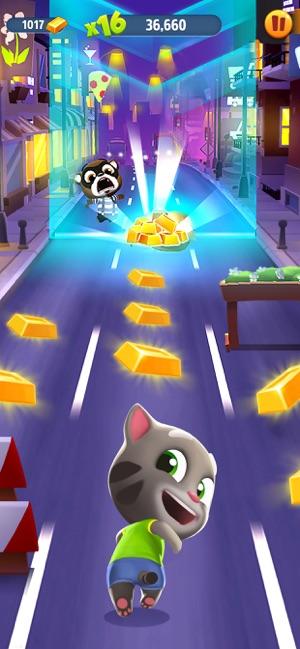 汤姆猫跑酷真正破解版2021截图
