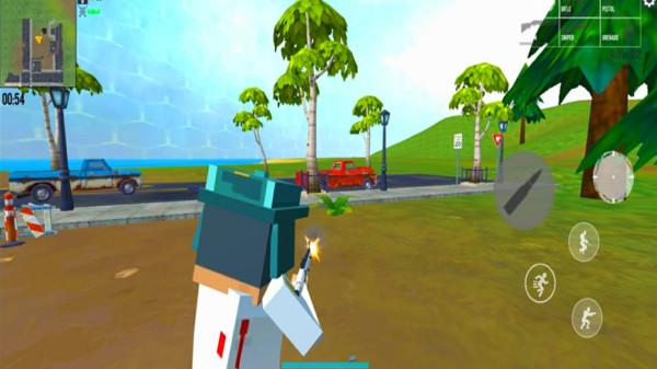 像素射击方块战场游戏截图