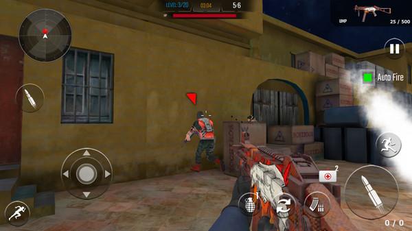 陆军秘密袭击游戏截图
