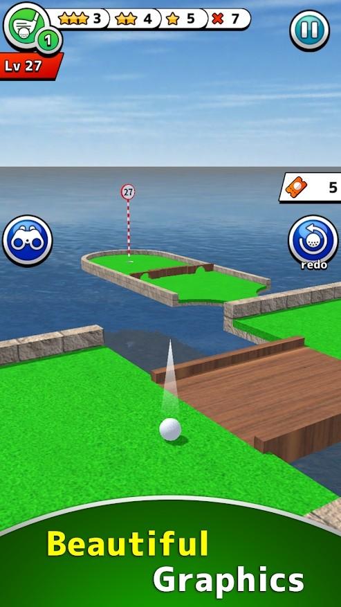 迷你高尔夫100+安卓版截图