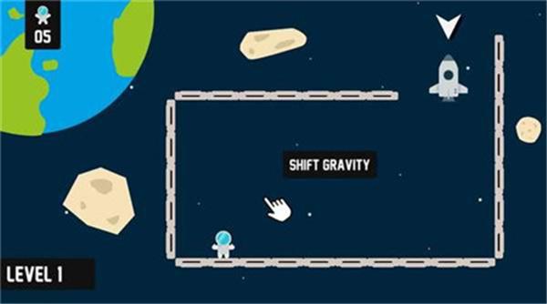 太空中迷路的宇航员截图