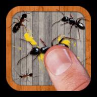 指尖蚂蚁粉碎