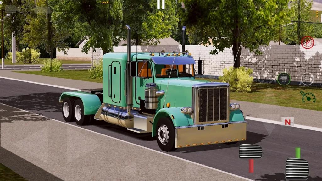 世界卡车驾驶模拟器汉化版截图
