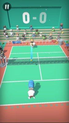 口袋网球游戏截图