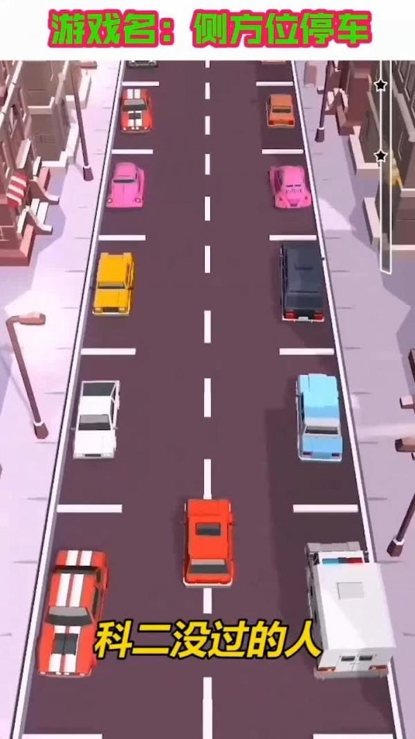 侧方位停车截图