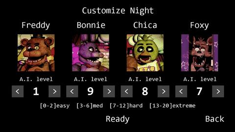 玩具熊的五夜后宫多人联机版截图