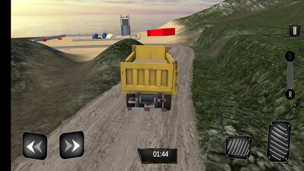 道路施工挖掘机截图