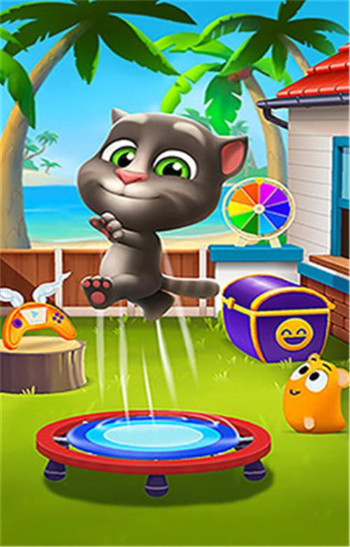 我的汤姆猫2破解版无限金币钻石最新版截图