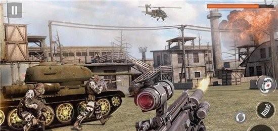 军队射击英雄截图